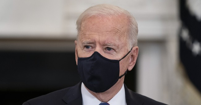 Joe Biden Takes Inane Mask Hysteria to Another Level