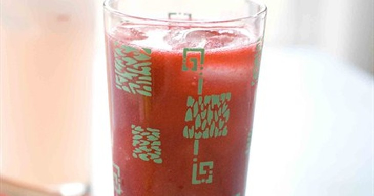 This April 28, 2014 photo shows a raspberry daiquiri drink in Concord, N.H. (AP Photo/Matthew Mead)