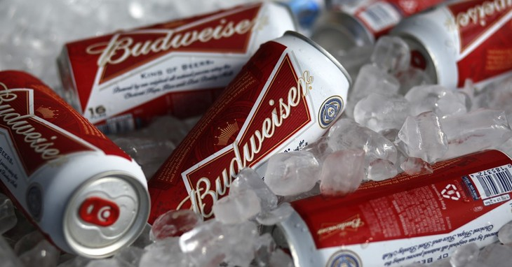 This is a Thursday, March 5, 2015 file photo of Budweiser beer for sale at a concession stand at McKechnie Field in Bradenton, Fla. The makers of Budweiser aren't satisfied with owni