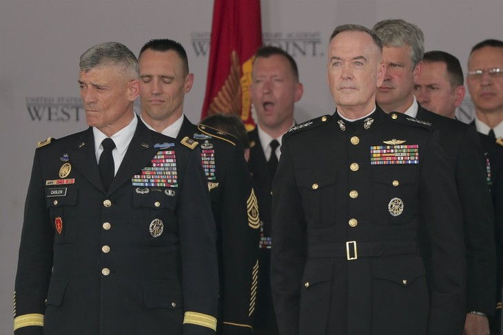 Covid 19 coronavirus: US military leaders quarantined after official tests positive