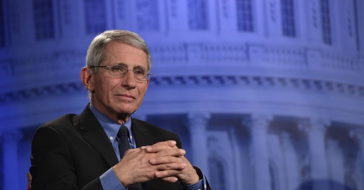Noted Trump holdover, Dr. Anthony Fauci / AP/Reuters Feed Library
