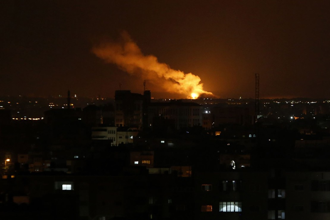 Shocking -- All Networks Blame Israel for Escalating Palestinian Violence After 160 Rockets Fired From Gaza Into Israel