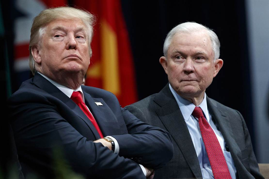 Sessions Defends Russia Recusal, Tells Trump It 'Resulted in Your Exoneration'