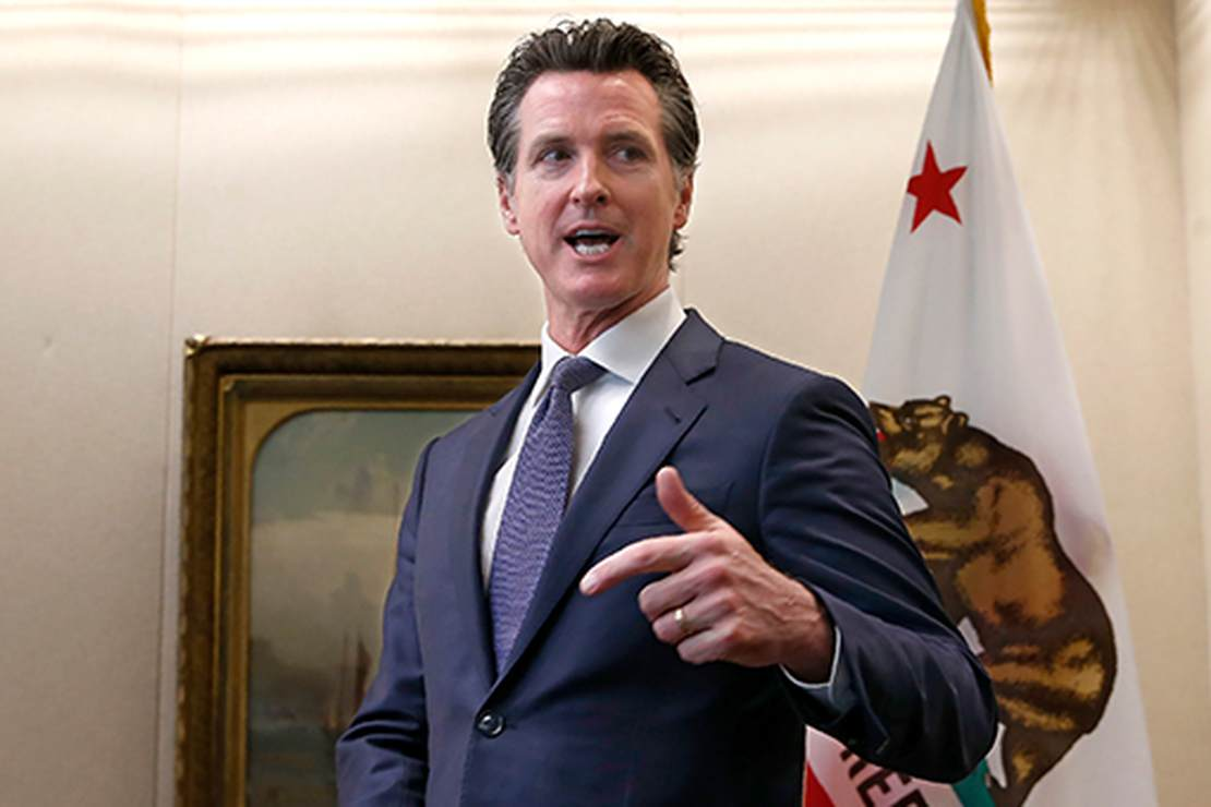 Oops...In Freudian Slip Gov. Gavin Newsom Thanks CA Press Corps For 'Staying On Message'
