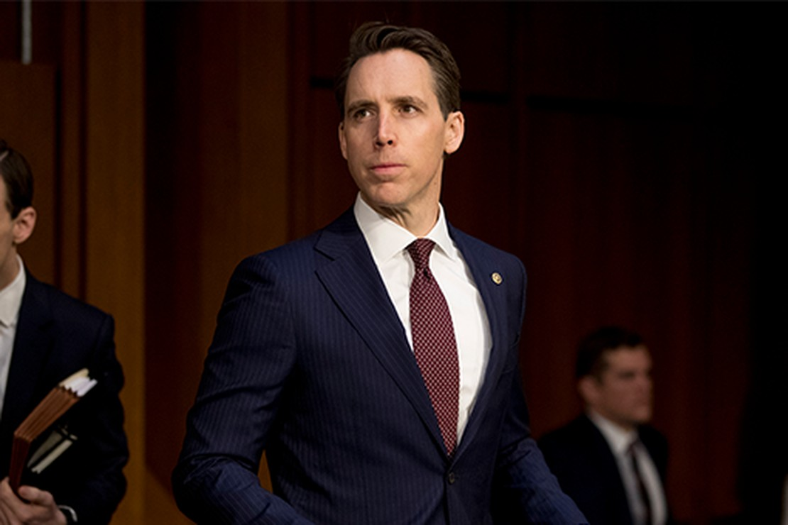 Josh Hawley Flips the Script, Calls for Ethics Investigation Against Democrats Who Filed Complaints Against Him
