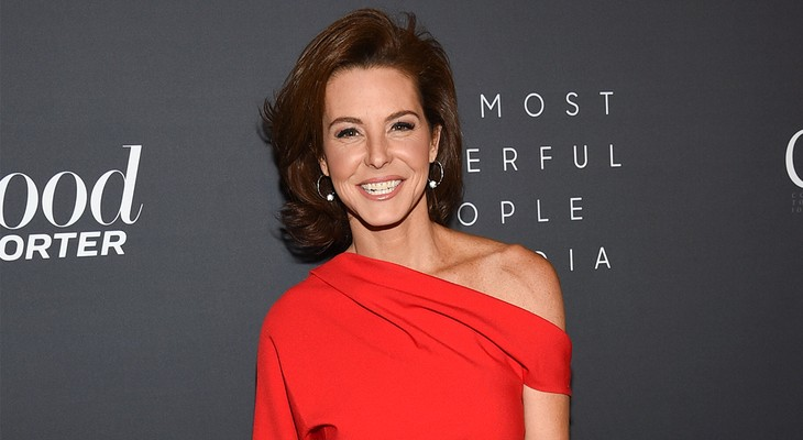 Stephanie Ruhle in Red Dress, Ready for Red Wave