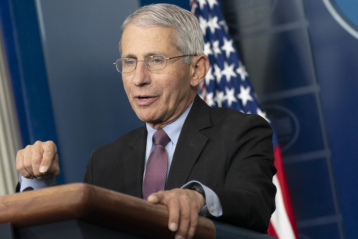 Dr. Anthony Fauci Says Trump Ad Took His Words 'Out of Context'
