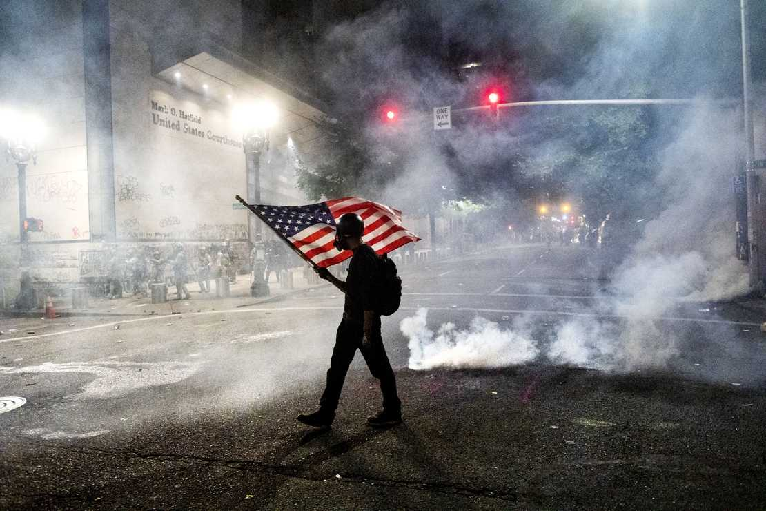 BLM Account Says People Who Fly the American Flag Are Racist and Possibly Unintelligent