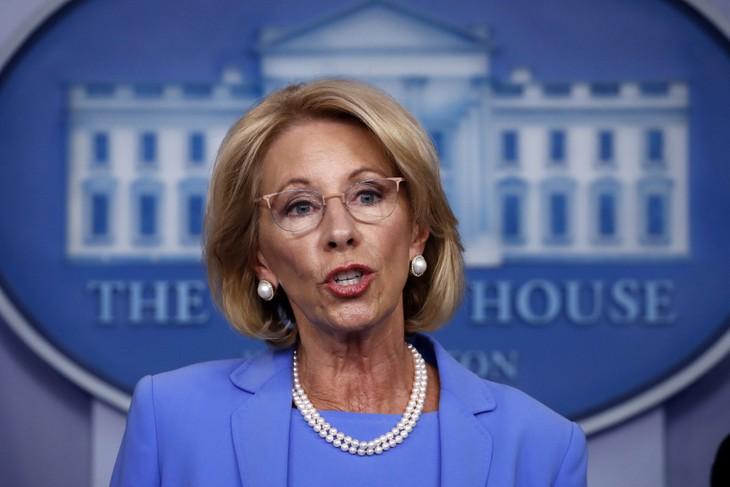 Education Secretary Betsy DeVos Resigns, Blaming Trump for Mob at US Capitol