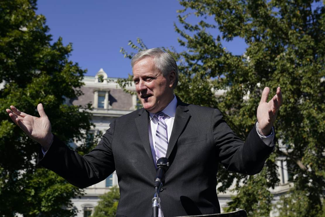 Cue Media Meltdown: White House Chief Mark Meadows Says We Will Treat COVID-19 Like Every Other Respiratory Virus