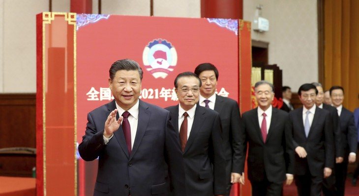 Xi Jinping has a smile and a wave for his friends on the American Left