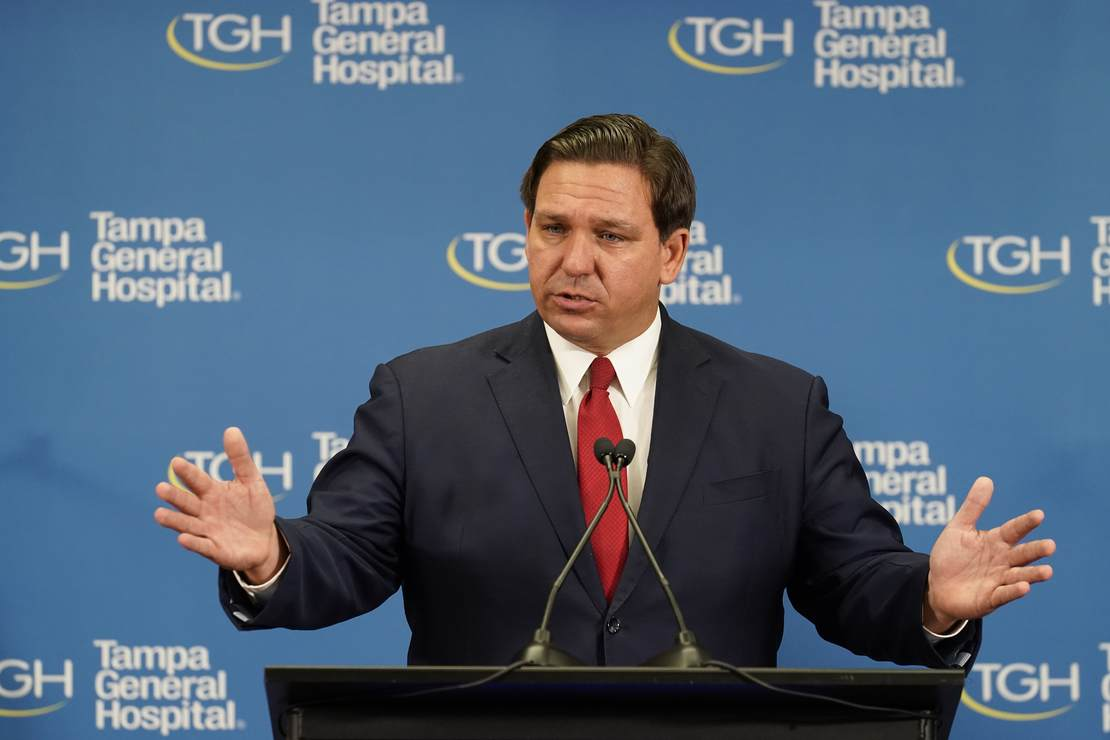 Ron DeSantis Delivers a Message to Vaccinated Americans, Hysteria Follows – RedState