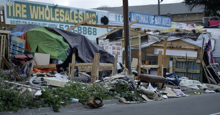 Homeless, California, Coronavirus