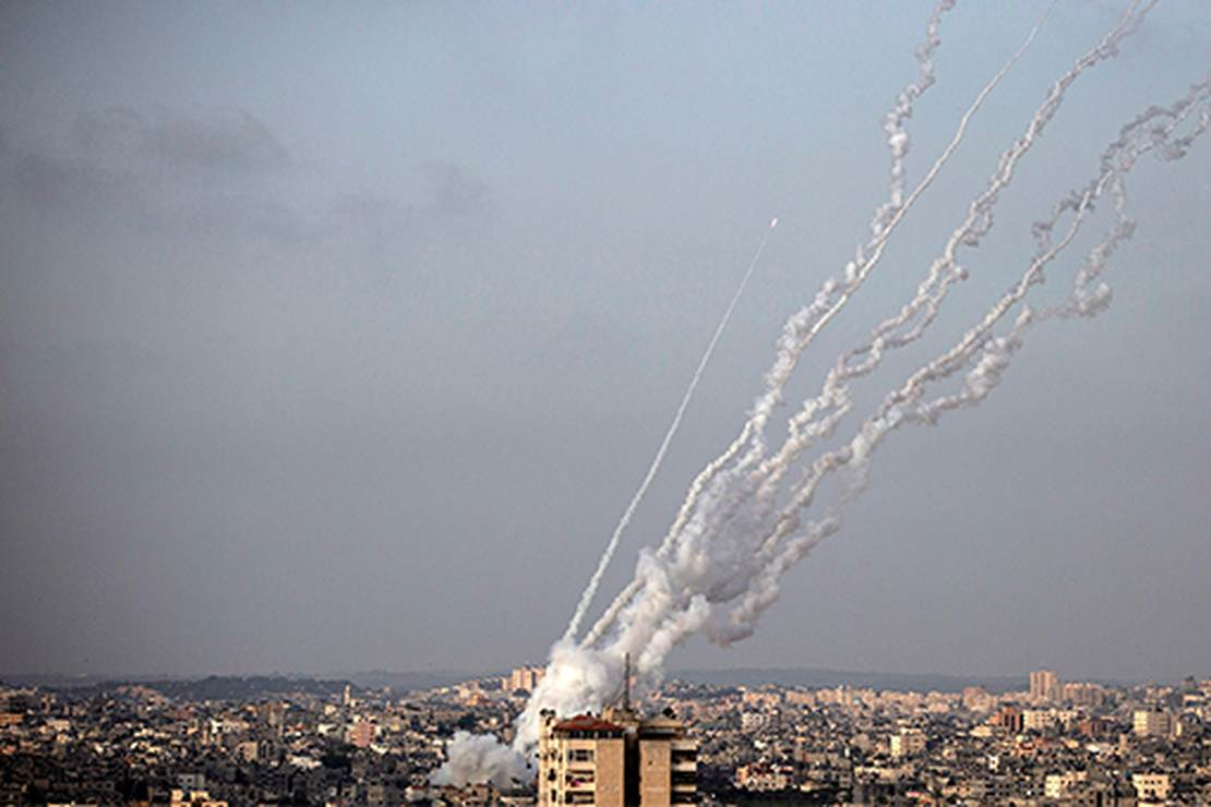 The Hamas Rocket Attacks Are Based on a Lie