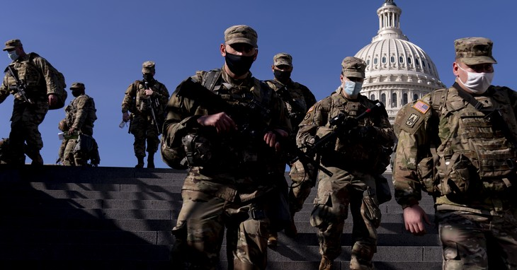The media told us this was sad but necessary/APTOPIX Capitol Breach