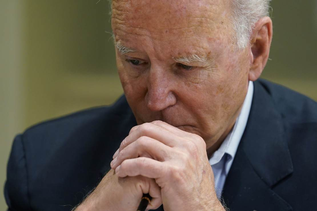 Another day, another terrible poll for Biden
