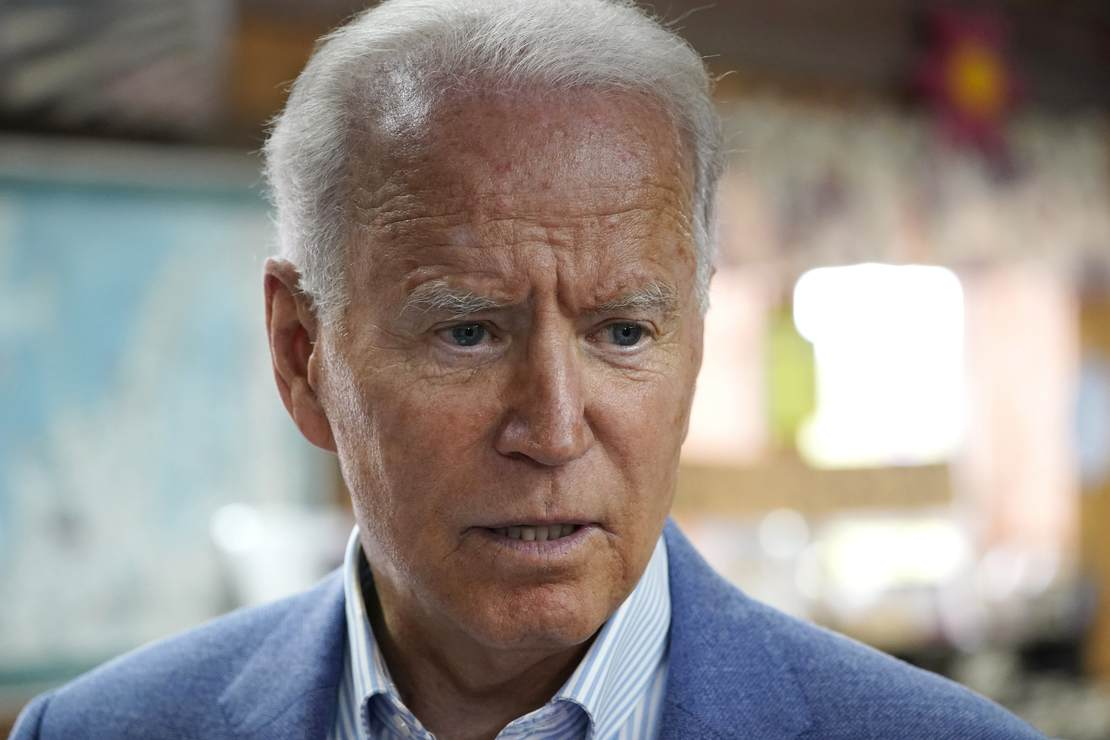 """Did Joe Biden Say """"My Butt's Been Wiped"""" in Response to an Immigration Question?"""