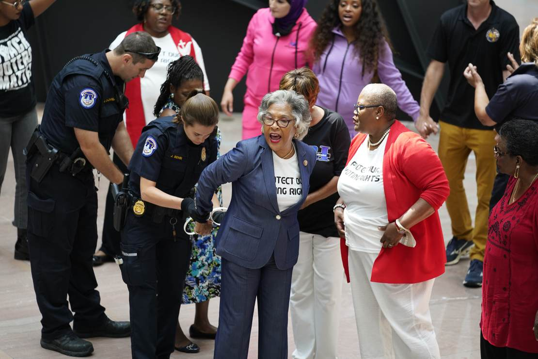 Congressional Black Caucus chair arrested during protest in Senate building – HotAir
