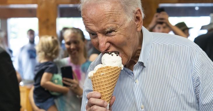 Biden, king of great polling.