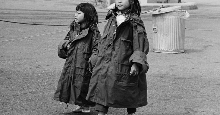 Vietnames Refugees At Camp Pendleton