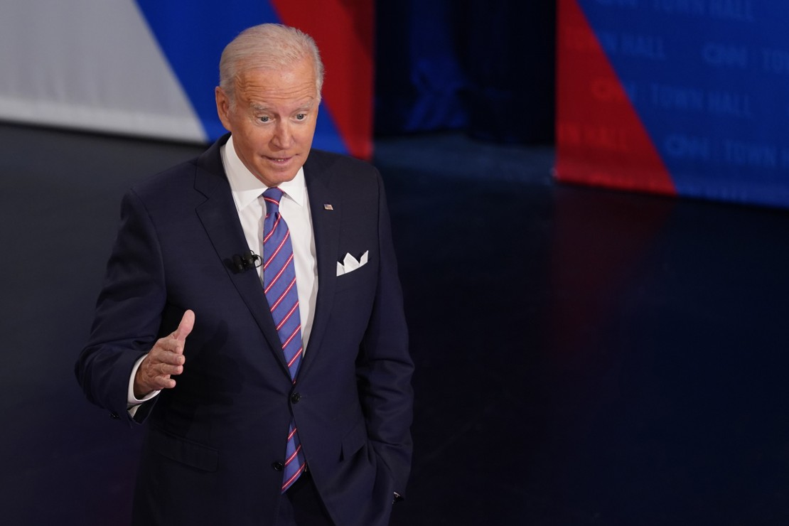 Joe Biden Asks out Loud the Question We All Have