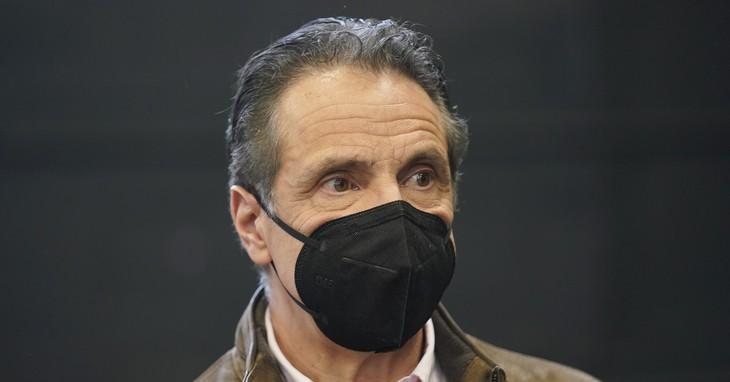Andrew Cuomo, Virus Outbreak New York