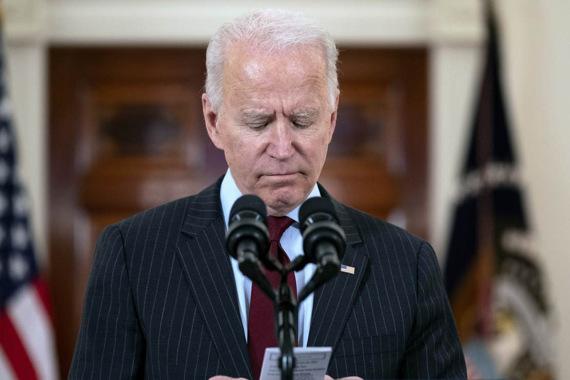 No Honeymoon: The Enthusiasm for Biden's Presidency Appears to Match the Enthusiasm for His Campaign