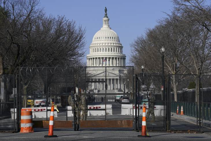 2 officers injured after vehicle rams US Capitol barrier; suspect dead""