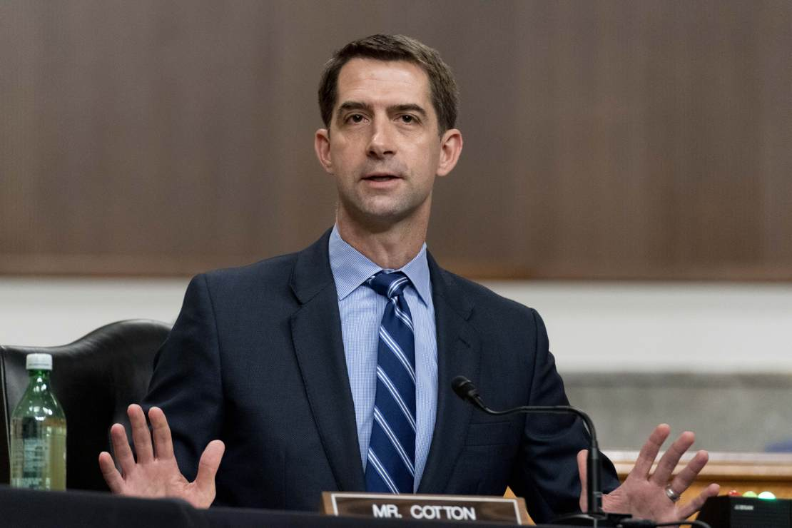 Sen. Cotton Pledges to Obstruct Biden US Attorney Nominees in Dispute Over Judiciary Rules