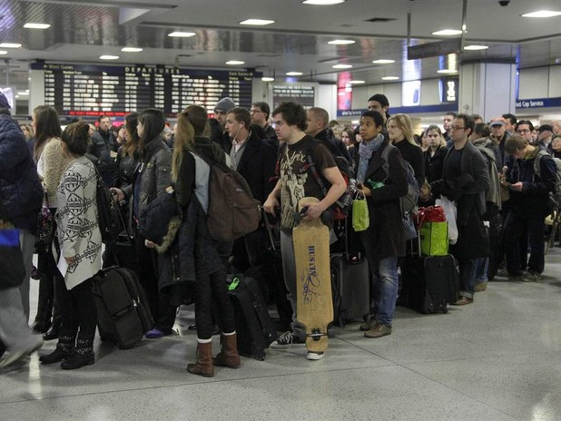 Travelers Gear Up for Thanksgiving