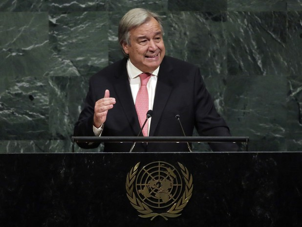 "Guterres Tells U.N. ""Fiery Talk Can Lead to Fatal Misunderstandings"""