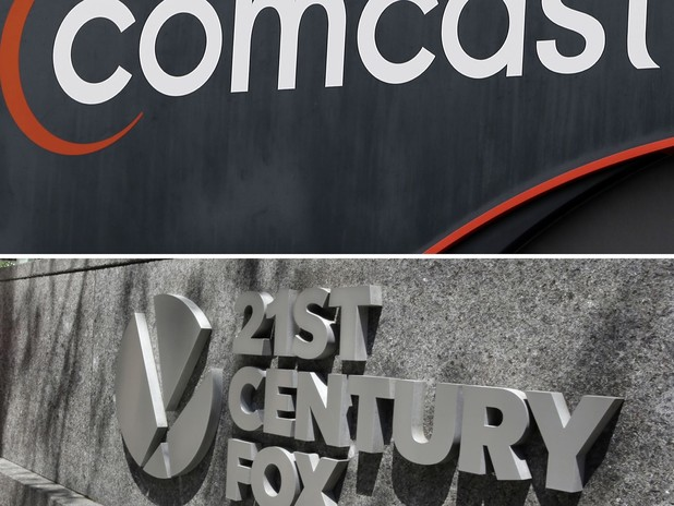 Comcast Wants to Buy 21st Century Fox's Movie Studio