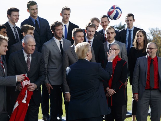 Trump Hosts NCAA Championship Teams at White House