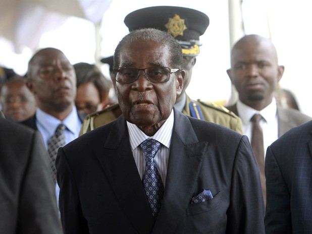 Zimbabwe's Mugabe Appears in Public for First Time Since Being Detained by Army