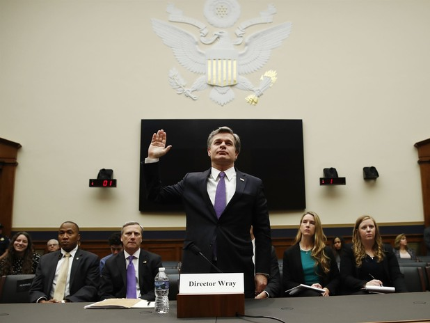 FBI's Wray Defends Agency After Trump's 'Tatters' Tweet