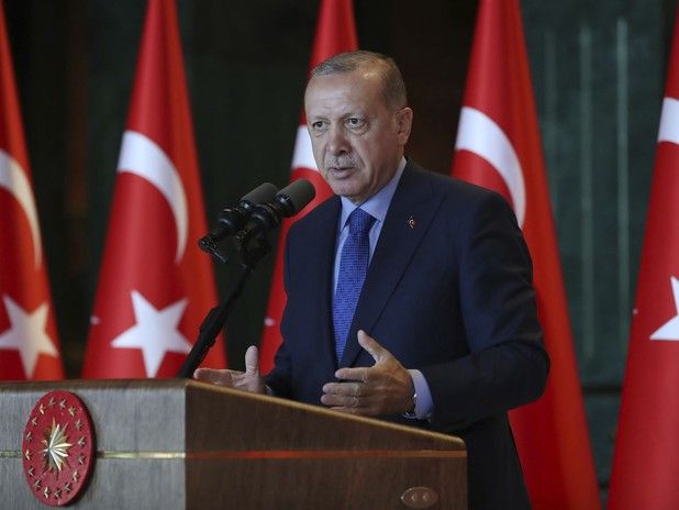 Erdogan Accuses U.S. Of Stabbing Them In the Back