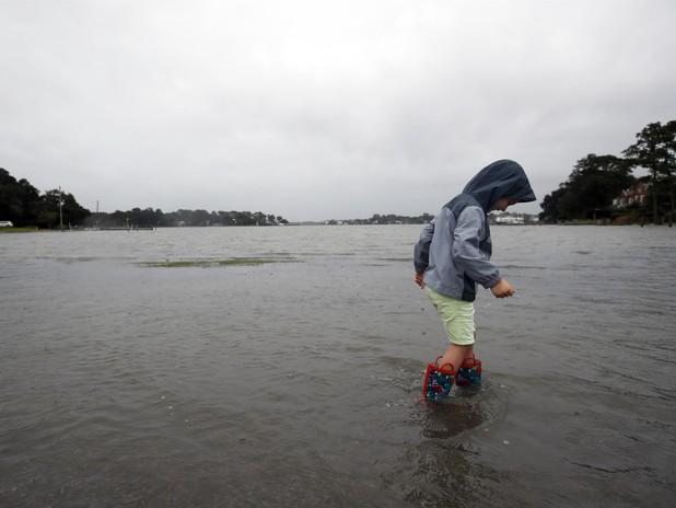 Hurricane Florence Makes Landfall in the Carolinas