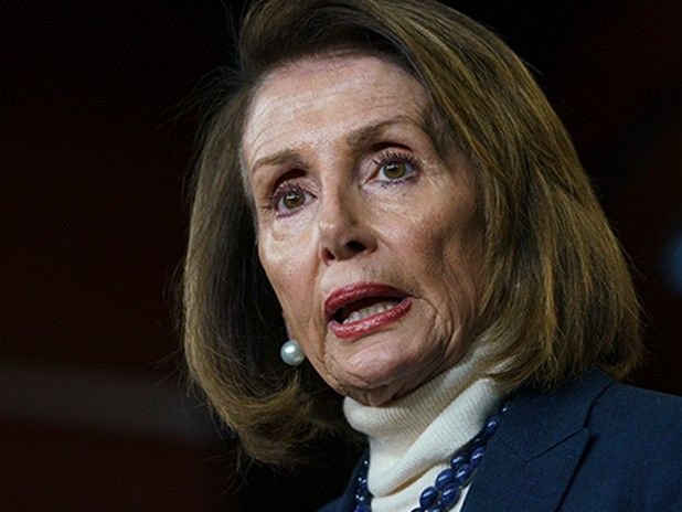 Pelosi open to border infrastructure