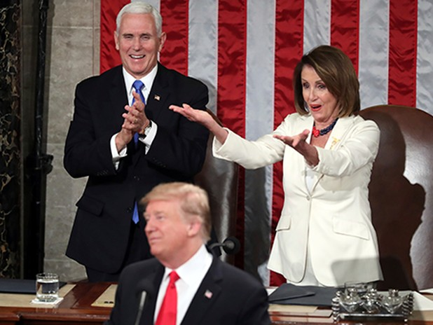 Pelosi's condescension offers some laughs
