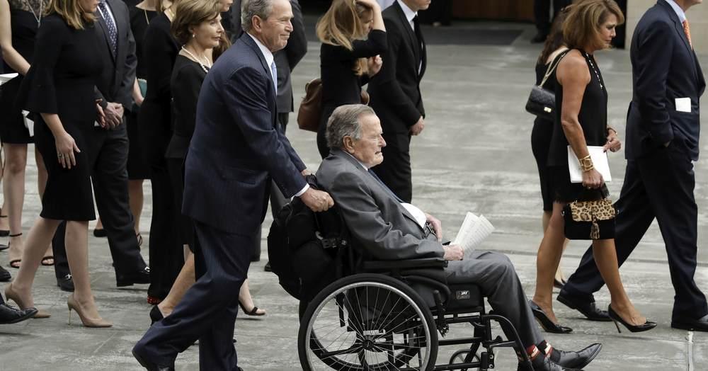 Breaking: Pres. George H.W. Bush Hospitalized
