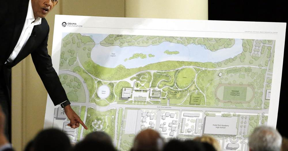 Irony Defined: Obama's Presidential Library Hit With Federal Lawsuit By Preservationist Organization