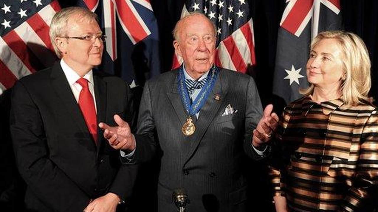 Americans Honor Former Secretary of State George Shultz