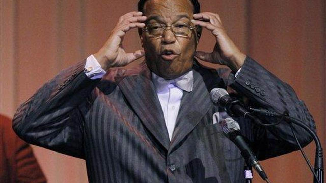 ICYMI: Louis Farrakhan Chanted Death to America...in Iran