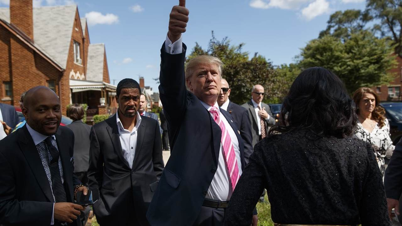The 'Unprecedented' Way the Trump Campaign Is Going After the Black Vote