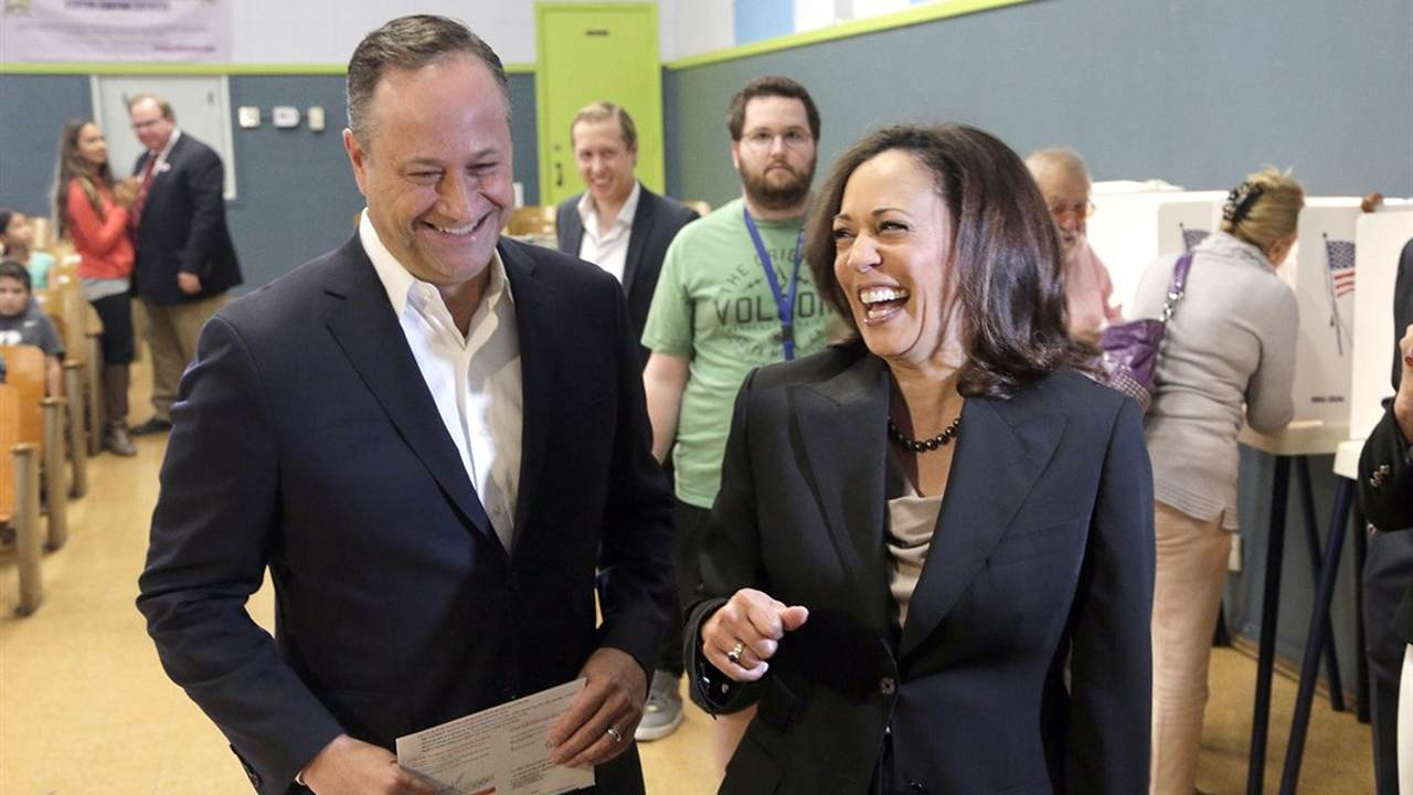 Kamala Harris's Husband Is Leaving His Law Firm. Here's What He's Planning.