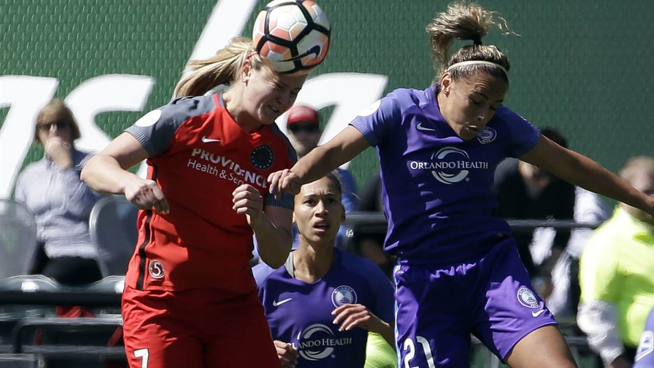 Professional Soccer Player Stands While the Rest of Her Team Kneels During Anthem