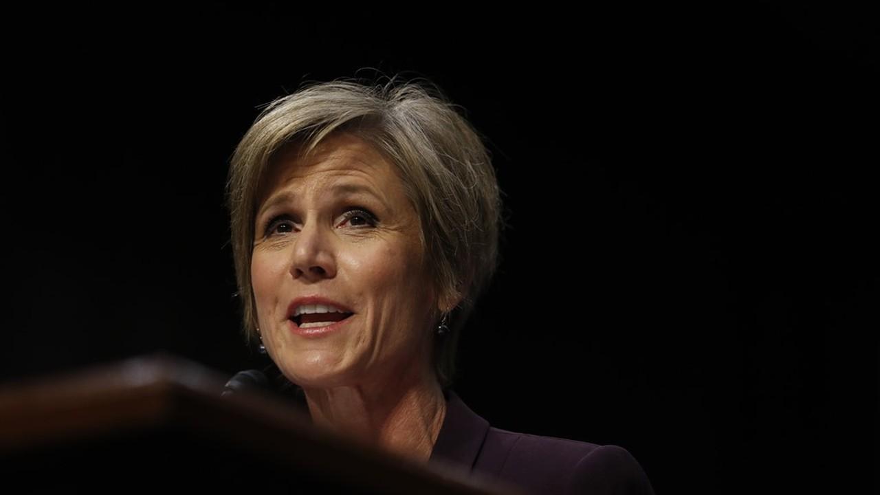 Senate GOP Should Hammer Blackmailer Sally Yates...