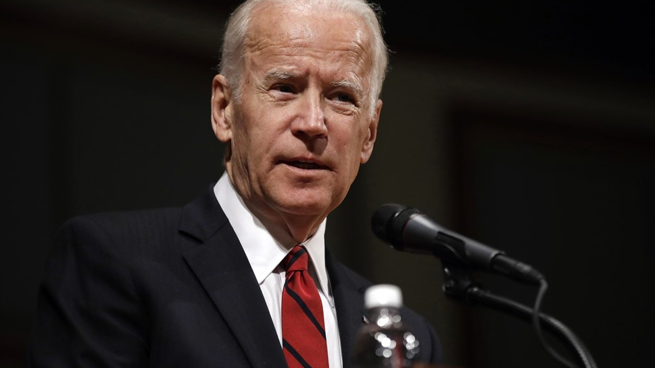 Analysis: Joe Biden Talks to a Wall (Not Just a Metaphor, He Really Did)