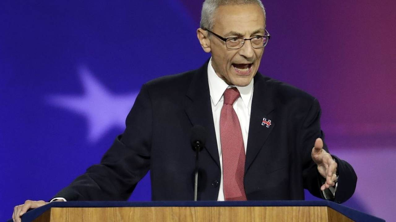 Podesta: From the Day Trump 'Took His Hand off the Bible to Today, He's Abused the Justice System'