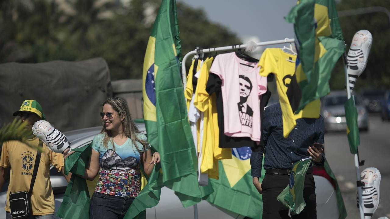 Amid violence, Brazil presidential candidates call for calm - Breaking News